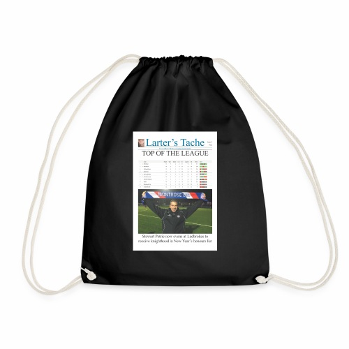 Issue 2 Front Cover - Drawstring Bag