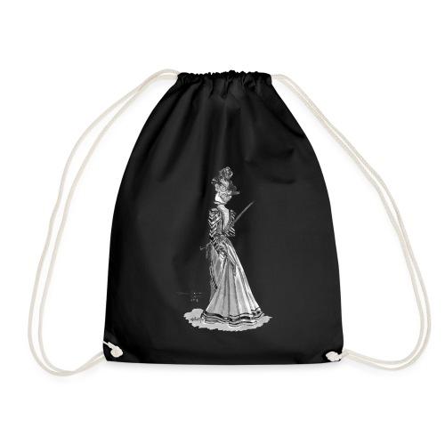 Victorian Fashion - Drawstring Bag