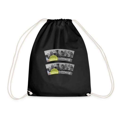 Becher Test png - Drawstring Bag