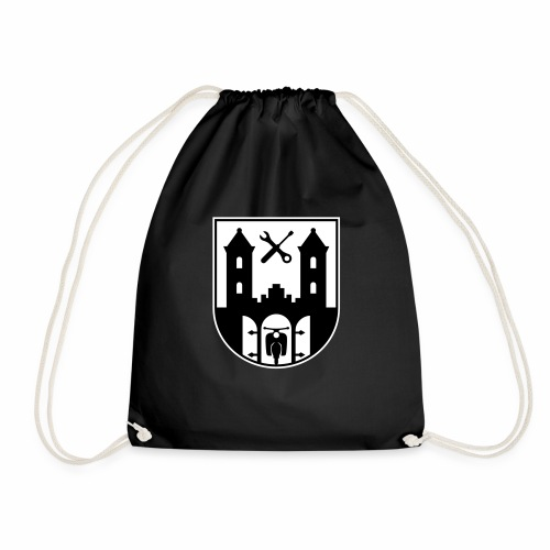 Simson Schwalbe - Suhl Coat of Arms (2c) - Drawstring Bag