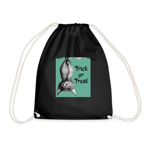 Trick or treat Bat - Drawstring Bag