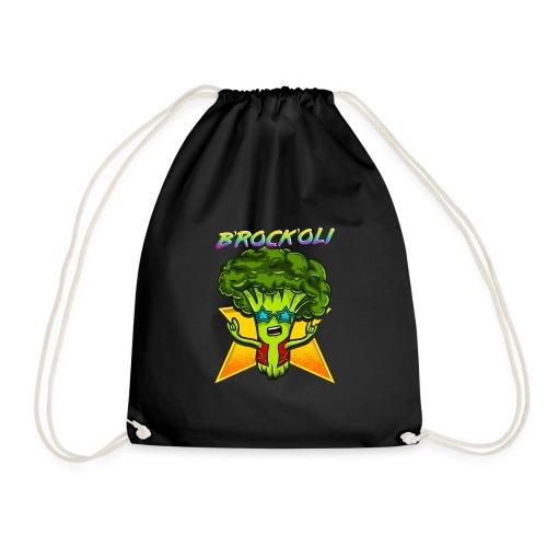 Brockoli das Rockende Brokkoli Geschenk - Turnbeutel