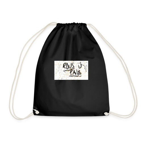 rous pals merch - Drawstring Bag
