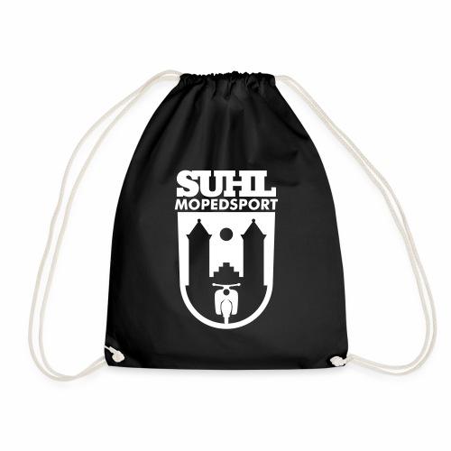 Suhl Mopedsport Schwalbe Logo - Drawstring Bag