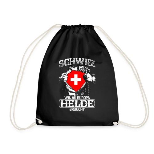 Schwiiz - Europa - Helde - Turnbeutel