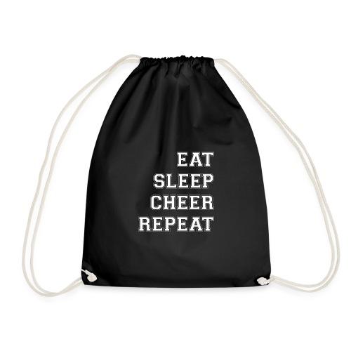 Eat Sleep Cheer Repeat - Drawstring Bag