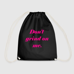 Don't grind on me., Pink - Gymnastikpåse