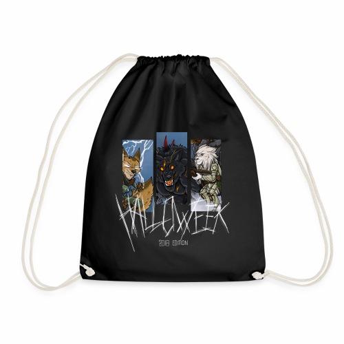 The Hallow Trio - Drawstring Bag