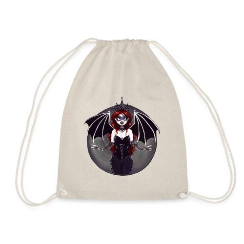 E. R. Whittingham Artwork for World Gothic Models - Drawstring Bag