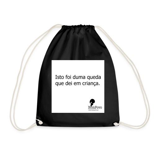queda em criança - Drawstring Bag