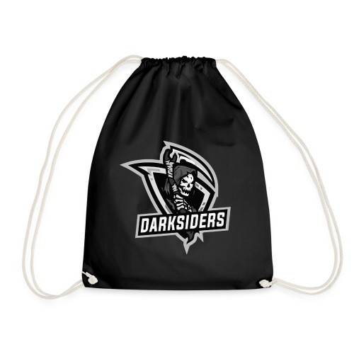logo darksiders blanco negro - Mochila saco