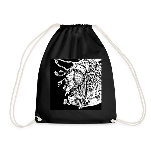 Nine Legged Shaaaaanf - Drawstring Bag