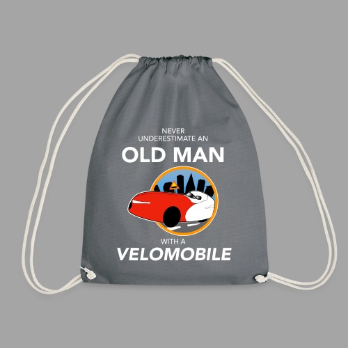 Never underestimate an old man with a velomobile - Jumppakassi