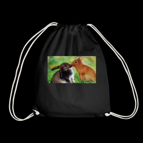 Zwilling kaninchen T-shirt - Turnbeutel