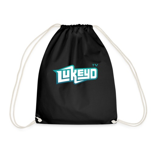 lukeyD TV Logo - Drawstring Bag