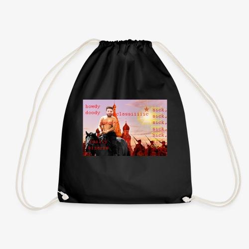 putin howdy - Drawstring Bag