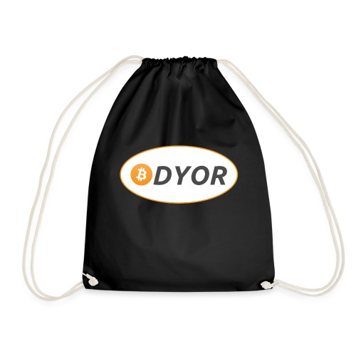 DYOR - option 2 - Drawstring Bag