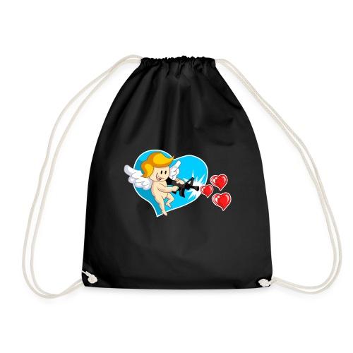Kawaii Angel con ametralladora de corazón - Mochila saco