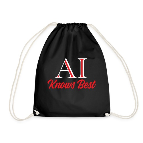 Trust the AI - Drawstring Bag
