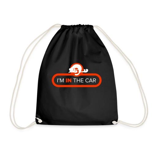 I'm in the car - Drawstring Bag