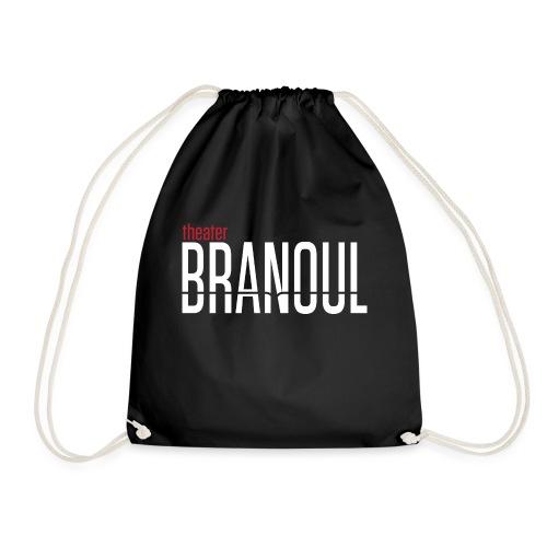 Branoul Logo rood wit - Gymtas