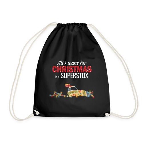 All I want for Christmas is a Superstox - Drawstring Bag
