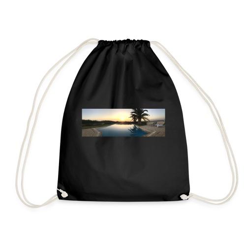 Sunset photo - Drawstring Bag