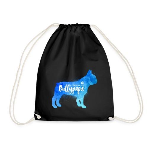 Liebender Bullypapa - Französische Bulldogge - Turnbeutel