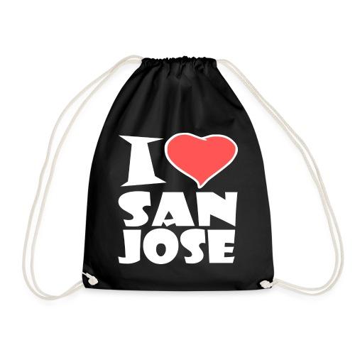 I love San Jose - Turnbeutel