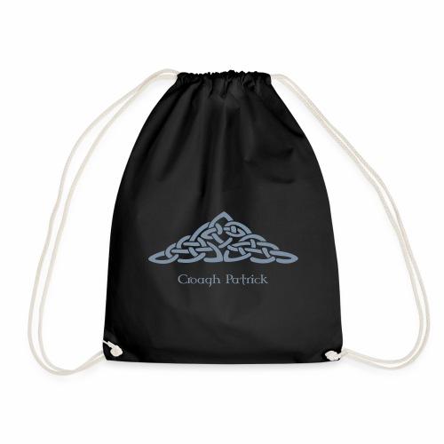celtic mountain - Drawstring Bag