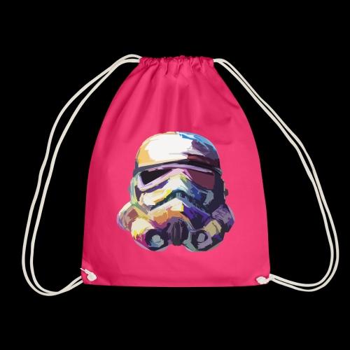 Stormtrooper with Hope - Drawstring Bag