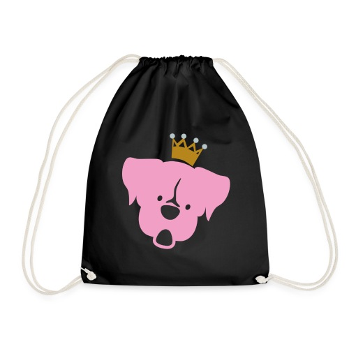 Prinz Poldi rosa - Turnbeutel