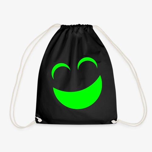 sonrrisa verde - Mochila saco