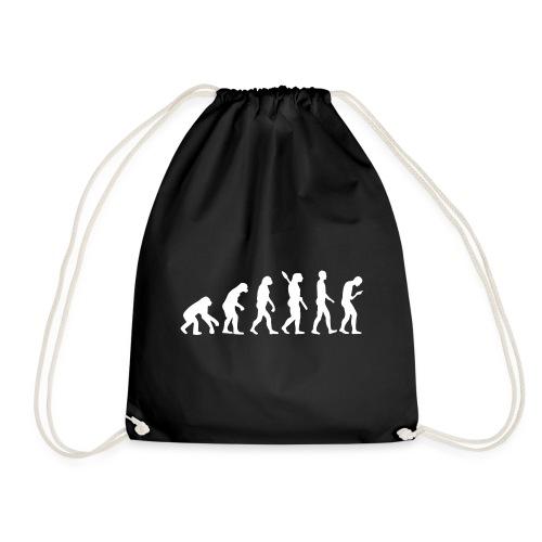 Entwicklung des Smartphone Zombie / Smombie - Drawstring Bag