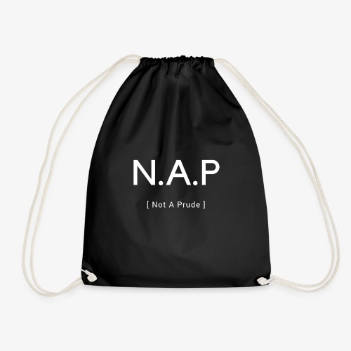 Not A Prude - Drawstring Bag