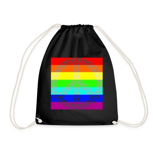 Regenbogen Gay Peace - Turnbeutel