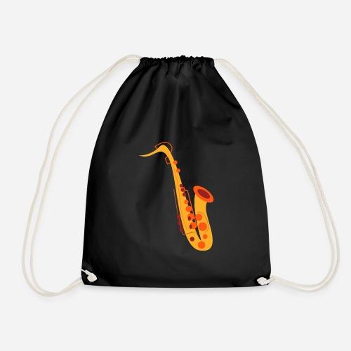Goldenes Saxophon - Turnbeutel