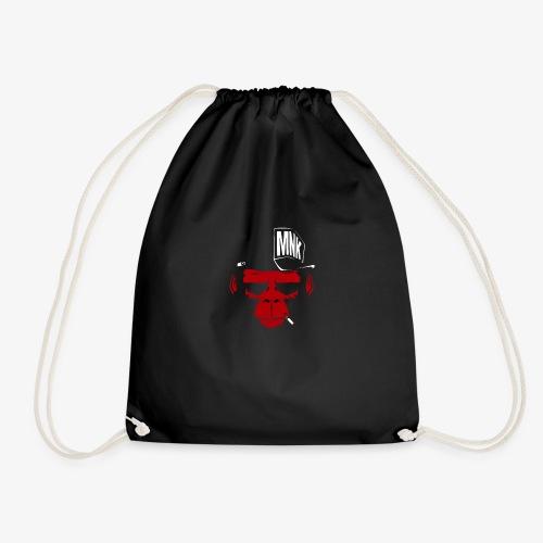 Mr Monkey - Drawstring Bag