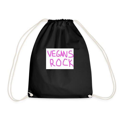 VEGANS ROCK - Drawstring Bag