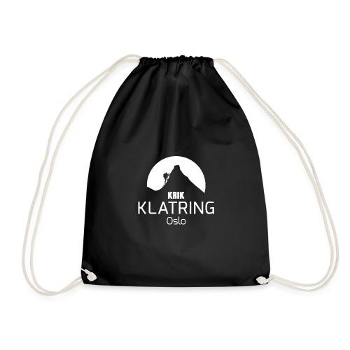 KRIK Klatring Logo foran - Gymbag