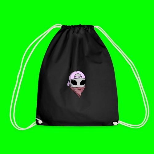 gangsta alien logo - Sacca sportiva