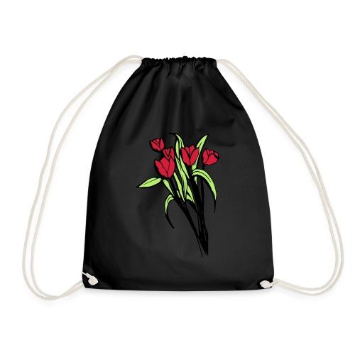 flower V3 - Drawstring Bag