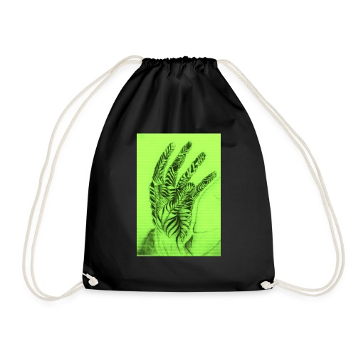 Reach to your heart - Drawstring Bag