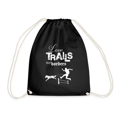 Love trails not borders - Turnbeutel