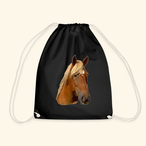 Horse Head - Drawstring Bag