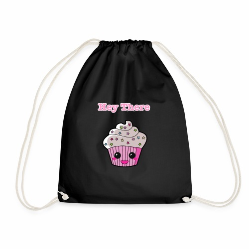 Hey there cupcake - Drawstring Bag