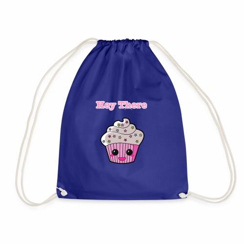Hey there cupcake - Drawstring Bag