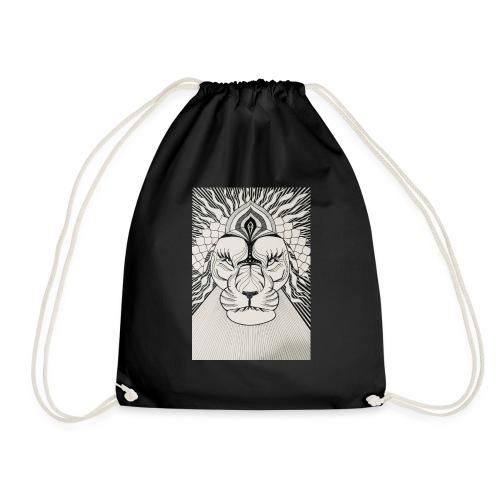 MandalArt Design - Lion - Gymtas