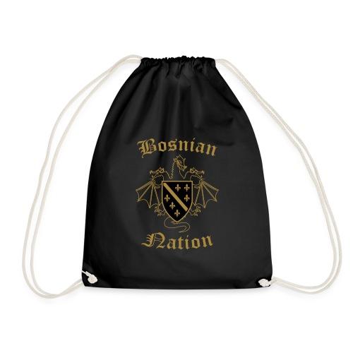 Bosnian Nation - Drawstring Bag