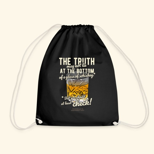 Whiskey T-Shirt The Truth - Turnbeutel